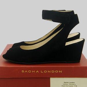 Sacha London Venice Suede Sandal